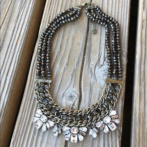 🎁 Fabulous LOFT Crystal Beaded Necklace!